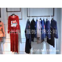 广州批发品牌半身裙多种款式米色艾利欧剪标专柜正品尾货