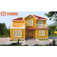 轻钢结构别墅 自建房 钢结构房屋 节能环保新型住宅 乐18户型