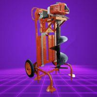 驰航多功能植树挖坑机 大马力汽油挖坑机 果园植树挖洞机
