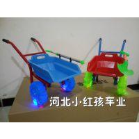 儿童 小推车 儿童 沙滩车双轮翻斗推土车彩轮闪光轮 手推车玩具车