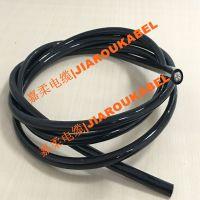 PUR耐油耐腐蚀聚氨酯拖链电缆
