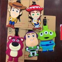 美国电影卡通系列~玩具总动员 太空人 胡迪三眼仔造型行李牌 吊牌