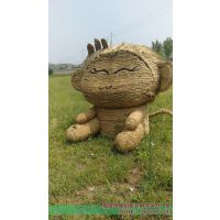 儋州哪里订购稻草人工艺品