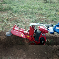 手扶旋耕机多功能 果树开沟施肥机 大葱培土起垄机