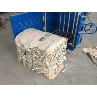 立式液压废纸打包机 80吨小型废纸箱压包机器 山东金亿机械上门调试