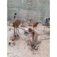 玻璃钢白鹭-泥塑阶段