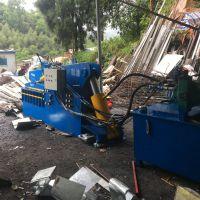 200吨钢铁废料剪铁机 液压式废金属剪切机 双头钢筋角铁切断视频