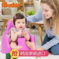 韩国宝得笑进口婴儿餐桌椅便携式多功能宝宝小孩用吃饭座椅