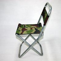 28长户外折叠靠背垂钓椅便携金属钓鱼凳休闲马扎十元店货源批发