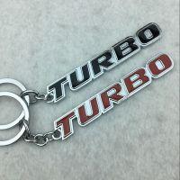 个性车用创意钥匙扣 丰田本田三菱腰挂 turbo power RALLI///ART