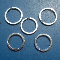 生产优质铁 铜 不锈钢钥匙圈工厂 压花铁钥匙圈