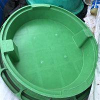 过车型草盆井盖 SMC隐形植草井盖 绿化带花盆井盖