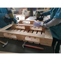 黄岛实木木托盘1.1m冷库使用货架木托厂家特价