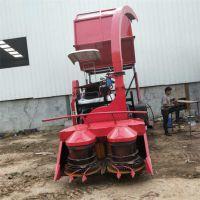 履带式青储玉米秸秆收割机报价 自卸式自带料仓青储机厂家
