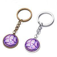 外贸热销创意饰品时光宝石钥匙扣环挂件礼品促销钥匙扣厂家直销