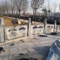 寺庙青石栏杆 大理石雕花石栏杆 浮雕栏杆厂家定做