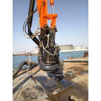 九江挖掘机液压铰刀清淤泵厂家电话 吸沙泵供应价格