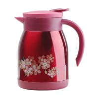 ROLASE芙罗拉保温壶咖啡壶 家用304不锈钢欧式办公热水瓶茶壶暖瓶