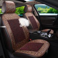 夏季汽车坐垫透气单片木珠子座垫竹片面包车货车驾驶座椅通风凉垫