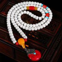 108颗仿星月菩提子高密度正月佛珠项链手串配饰品天然手链