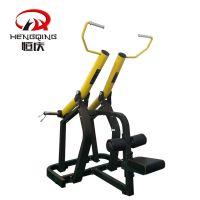 恒庆热销圆动臂坐式下拉训练器大黄蜂健身器材健身房运动力量商用