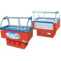 凯雪冰粥展示柜 KX-1.0ZD10盆鸭脖凉菜冷藏展示柜
