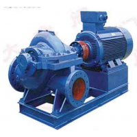 长寿S系列单级双吸离心泵供抽清水或物理化学性质类似于水的其它液体使用