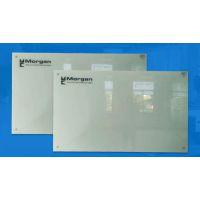优雅乐玻璃白板会议室明亮写字板 磁性钢化玻璃白板定制