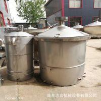 甘肃小型酒坊酿酒设备生产厂家 投料500斤烧酒设备多少钱一套