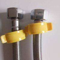 304不锈钢丝编织水管 防爆进水软管龙头马桶热水器上水管 热水管