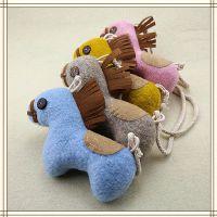 儿童可爱小马凹造型饰品 韩国男女童卡通马衣饰 百搭公仔玩具现货