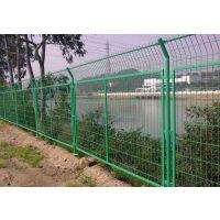 贵州博赛元供应市政护栏网绿地园林花坛三角折弯护栏网