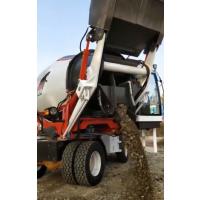 石家庄5.0方自己智能铲料搅拌机 水稳土运输搅拌设备
