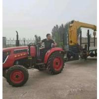 8吨拖拉机平板吊车 农用拉活动板房楼板 钢管 方管 三包服务