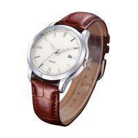 深圳手表工厂热销外贸新款韩版男士带日历石英手表