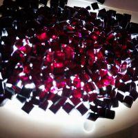 红外线穿透PC颗粒 透明性 透光率达90%玻璃装配业电器工业应用