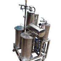 张家港小型油水分离装置(去乳化油),污水处理设备,油水分离机