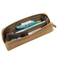 厂家直销 杜邦纸笔袋 多功能分格文具收纳袋 大容量学生笔袋定制