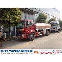 福田欧曼加油车 12.5方碳钢运油车 国五环保加油车 铝合金油罐车