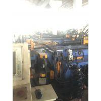 对外出售二手CNC油电混合型三维立体数控弯管机(3-5轴伺服控制,三层模具,均搭配伺服弯管)、台湾颖