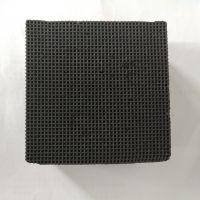 沐旺蜂窝活性炭砖 烟气脱硫废气处理 高纯果壳蜂窝活性炭砖