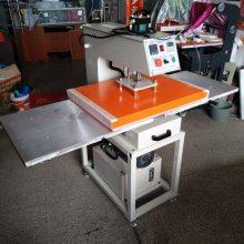 全自动烫图机50*70cm 牛仔裤烫钻机 床单被套双工位热转印机