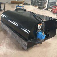 封闭式清扫器 徐州厂家直销 小型铲车配扫地机工地水稳层扫路面