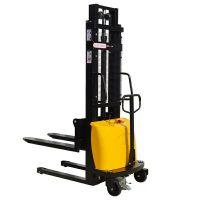 佳力牌电动堆高车 半电动叉车厂家 1T2T1.5T 电动装卸车价格