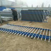 教育园区围墙护栏 幼儿园围墙护栏 锌钢铁艺栏杆厂家