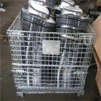 仓储笼不锈钢网筐金属框重货转运箱蝴蝶笼子
