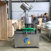 压盖机 全自动菊花盖啤酒果酒果汁压盖机 全自动菊花盖压盖机