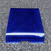 亚克力机箱面板 亚克力翻盖面板 透明蓝色面板 亚克力面板定做