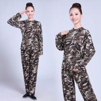 军训T恤 男女学生成人户外拓展军训服 迷彩作训服户外工作服军训