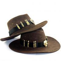 守望先锋帽子+大旗COS麦克雷骑士帽子男合金徽章子弹配件动漫周边